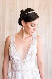 1985 wedding dresses styling a modern bridal tiara with a blush wedding dress hey