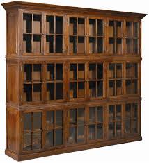 White Bookshelf With Glass Doors Glass Door Book Shelf Fleshroxon Decoration