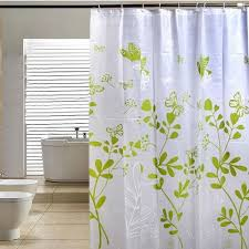 Waterproof Fabric Shower Curtains Fashion Butterfly Tree Peva Bathroom Waterproof Fabric Shower