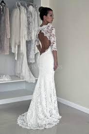 half lace wedding dress shop discount vintage illusion lace half sleeve sweep