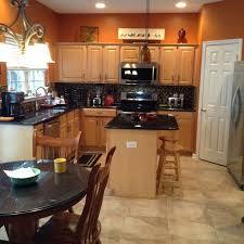 Orange Kitchens Ideas Orange And Brown Kitchen Decor For Nifty Ideas About Orange