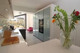 narrow kitchen narrow kitchen extension modern kitchen london by lwk
