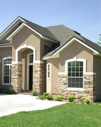 Pictures Of Stucco Homes by Exterior Paint Ideas For Homes With Brick Color Stucco