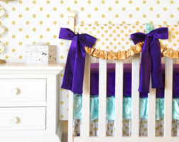 Girls Bedding Purple by Lavender Boho Baby Crib Bedding Purple Baby Bedding