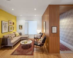 small living room furniture ideas include red carpet and wall