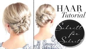 Hochsteckfrisuren Selber Machen Halblange Haare by Schnelle Hochsteckfrisur Für Mittellange Und Lange Haare