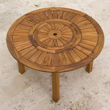 Umbrella Table Lazy Susan by The Lazy Susan Outdoor Table Hammacher Schlemmer