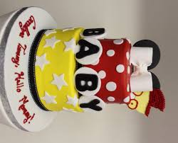walt disney theme baby shower ideas for parents mickey mouse cake