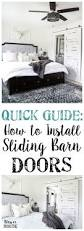 Installing A Sliding Barn Door How To Install Sliding Barn Doors Bless U0027er House