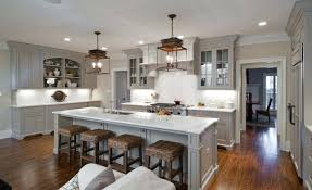 light brown kitchen cabinets wall color light grey kitchen