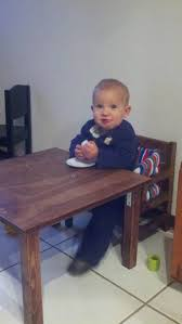 baby chair that attaches to table weaning chair and table the full montessori