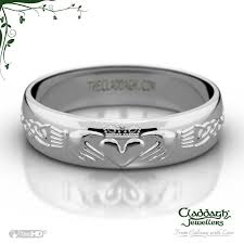 claddagh wedding ring domed celtic wedding ring