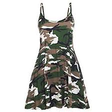 army pattern clothes camo dresses amazon com
