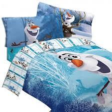 Frozen Bed Set Disney Frozen Bedding Set Olaf Build A Snowman Comforter And Sheet