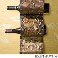 holly u0026 martin salinas wall mount wine rack sculpture 93 214 062 3 22