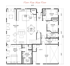 barn home floor plans great plains gambrel barn home main floor plan barn style