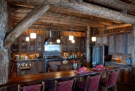 Painting Interior Log Cabin Walls by Rustic Kitchen Colors Wall Ornaments Brown Wall Paint Color Red