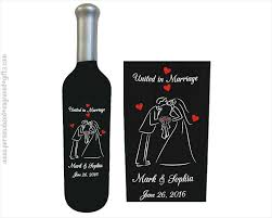 engraving wedding gifts engraved wine bottles for anniversaries weddings