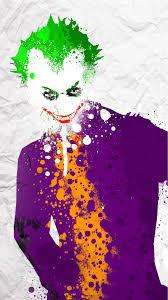 funny colors joker splatter funny colors mobile wallpaper phone background