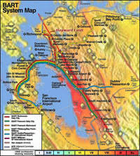 san francisco fault map geology cafe