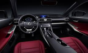 lexus crossover inside 2017 lexus is sports sedan interior changes all about nuance