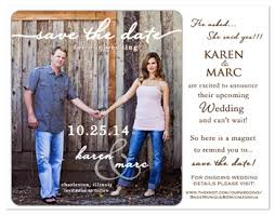 create your own save the date wedding magnets