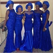 royal blue bridesmaid dresses 2015 royal blue bridesmaids dresses aso ebi styles lace