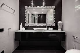 black and white bathroom design ideas white bathroom decorating ideas design 18 black and gnscl