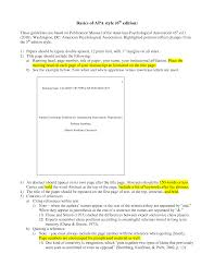 28 apa template 6th edition best photos of outline template apa