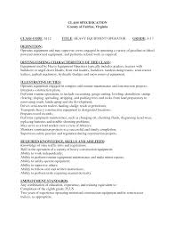 Resume Sample Korea by Heavy Equipment Operator Resume Haadyaooverbayresort Com