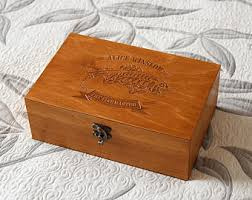Keepsake Box Personalized Fly Box Etsy