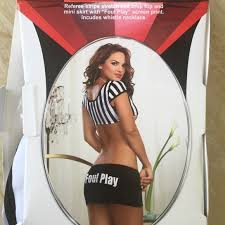 Ref Costumes Halloween 70 Dreamgirl Foul Play Referee Costume Halloween