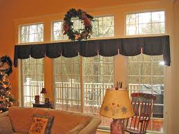 curtain valances for living room design ideas large glass window perfected with simple curtain