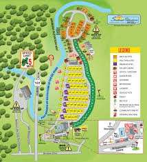 San Francisco Zoo Map by Garberville California Area Attractions And Activities Benbow Koa