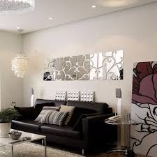 32 pcsset 3d diy acrylic mirror wall stickers home decor acrylic
