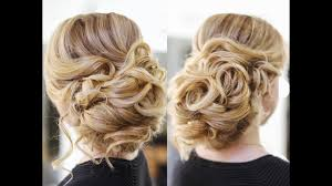 Simple But Elegant Hairstyles For Long Hair by Easy Wedding Updo With Curls Prom Hairstyles Hair Tutorial Youtube