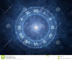 Futuristic Clock by Abstract Clock Background Stock Photography Image 24145872
