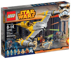 Picwic Lego by Lego Star Wars 75092 Pas Cher Starfighter De Naboo
