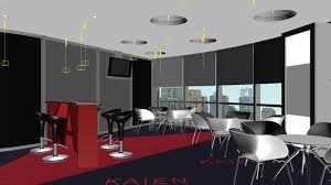 3d model lunchroom office canteen break room 047