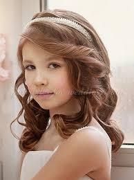 flowergirl hair flowergirl hairstyles flower girl hairstyle with headband
