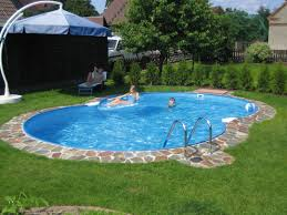 roland beginner pools and landscaping ideas edging semi inground