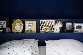 chambre bleu marine la nouvelle déco de ma chambre bleu marine noir et blanc doré