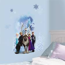roommates 2 5 in x 21 in disney frozen character winter burst disney frozen character winter burst peel and stick giant