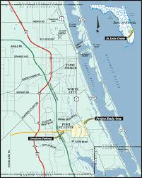 Port St Lucie Fl Map City Of Port St Lucie Engineering Study Projects