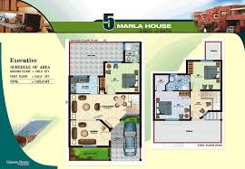 5 marla house plan images arts