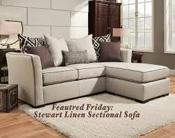 featured friday stewart linen 2 pc sectional sofa american