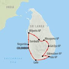 Map Of Sri Lanka Best Places To Visit In Sri Lanka Sri Lanka Best Places To Visit