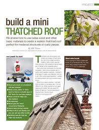 How To Cap A Hip Roof 51 Best Tutorials Miniature Construction Roofing Images On