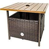 Patio Umbrella Stand Side Table Patio Umbrella Stand Wicker And Steel Side Table Base