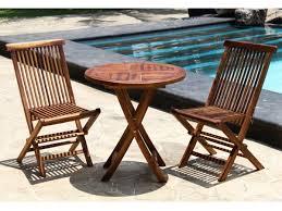 Table Et Chaises De Jardin Leroy Merlin by Salon De Jardin Table Ronde En Teck U2013 Qaland Com